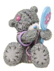Tatty bear with mirror