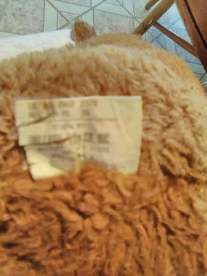 teddy bear label