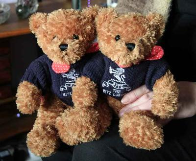 The Ritz Brother Teddy Bears