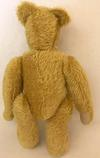 golden teddy bear back view