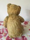 My childhood teddy bear back view