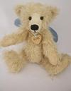 Light Cream teddy Bear with heart