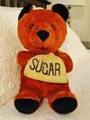 RARE ADVERTISER TEDDY BEAR