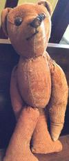 Teddybear in the Wall