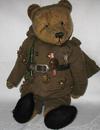 WWII Tommy Vintage Bear