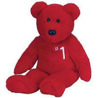 number 1 Ty Beanie baby