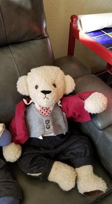 Sharp Dressed Teddy Bear!