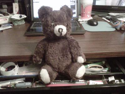 1970's teddy bear