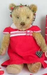 1960s Dressed Teddy Bear