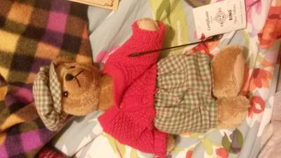 Golfer teddy bear