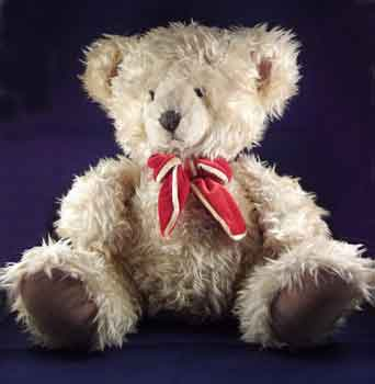 Curly Fur Russ Berrie Bear