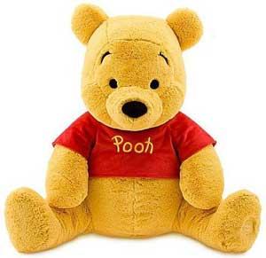 Disney pooh bear toy