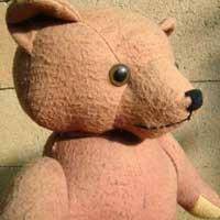 Faded teddy bear