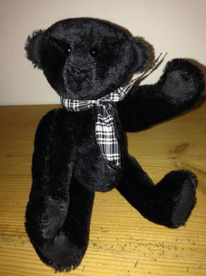 Hector the black bear
