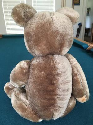 back view teddy bear