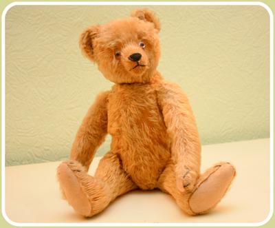 Bing or Steiff Teddy - either way beautiful