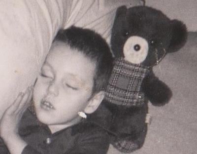 John and his brown Bear