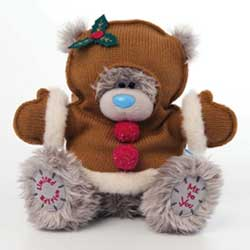 Christmas Pudding tatty bear