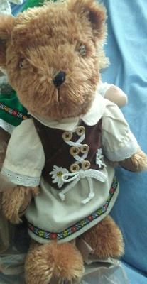 teddy bear in dress