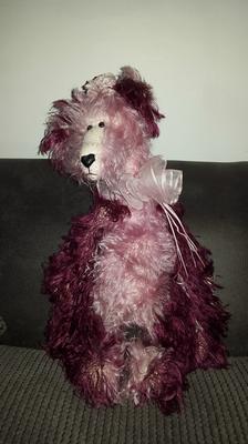 Nina Maccabe bear from Whitby