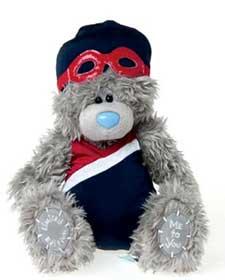 Olympic swimmer tatty bear