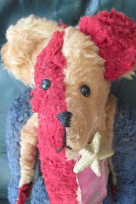 Patriotic Teddy Bear face
