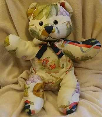 Salvatore Ferragamo silk teddy bears