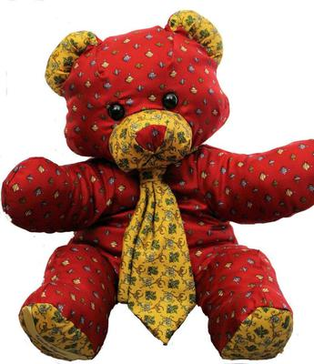 Salvatore Ferragamo silk teddy bears