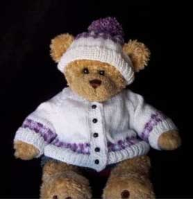 Teddy bear in a jumper