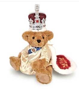 The Queen Teddy Bear