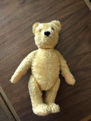 teddy bear from 50s or 60s