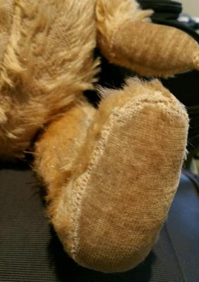 pre 1960 teddy feet