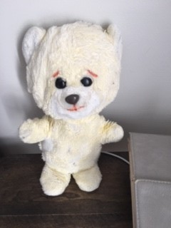 yellow teddy bear