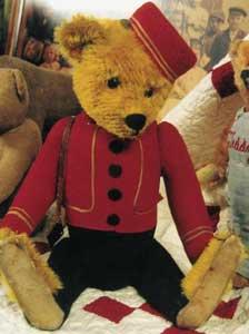 yes No Bell Hop Schuco Bear